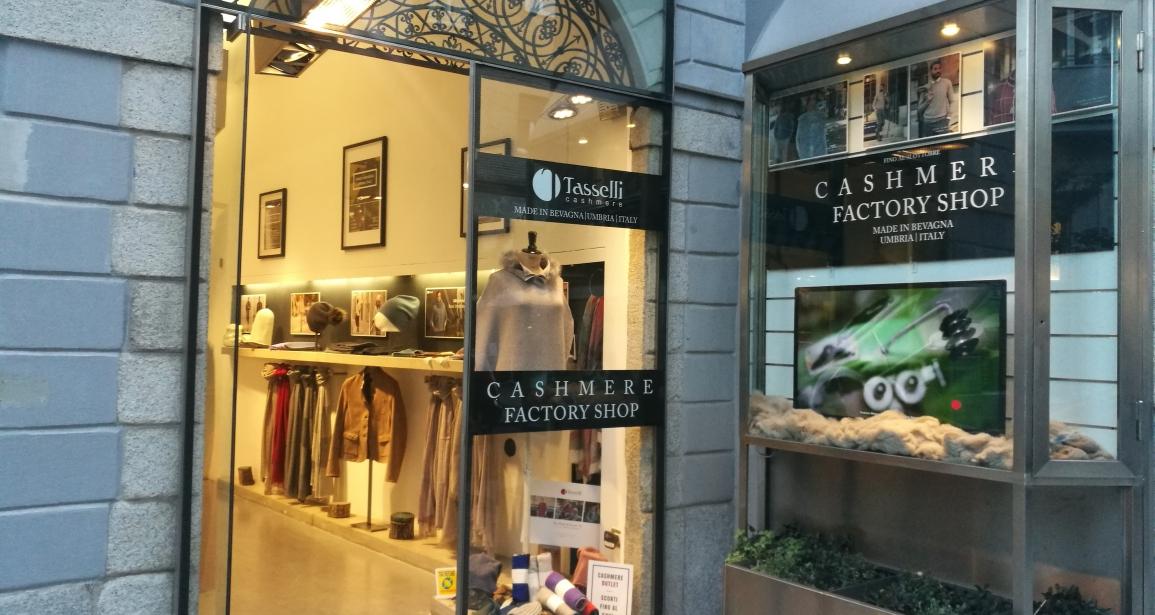 save off 8db4f 1a9f0 Tasselli Factory Shop a Milano - Tasselli Cashmere: Cashmere ...