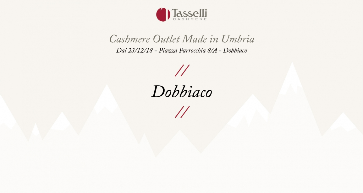 Cashmere Outlet Made in Umbria a Dobbiaco