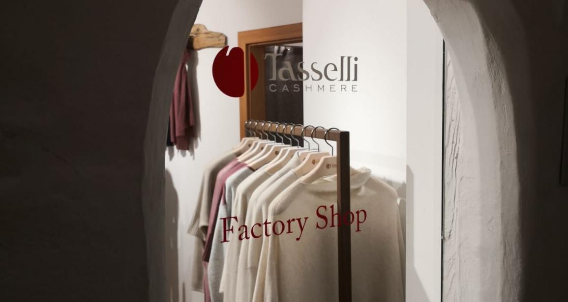 Cashmere Factory Shop Brunico: Tasselli conquista una nuova vetta!