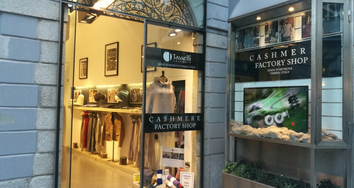 Tasselli Factory Shop a Milano