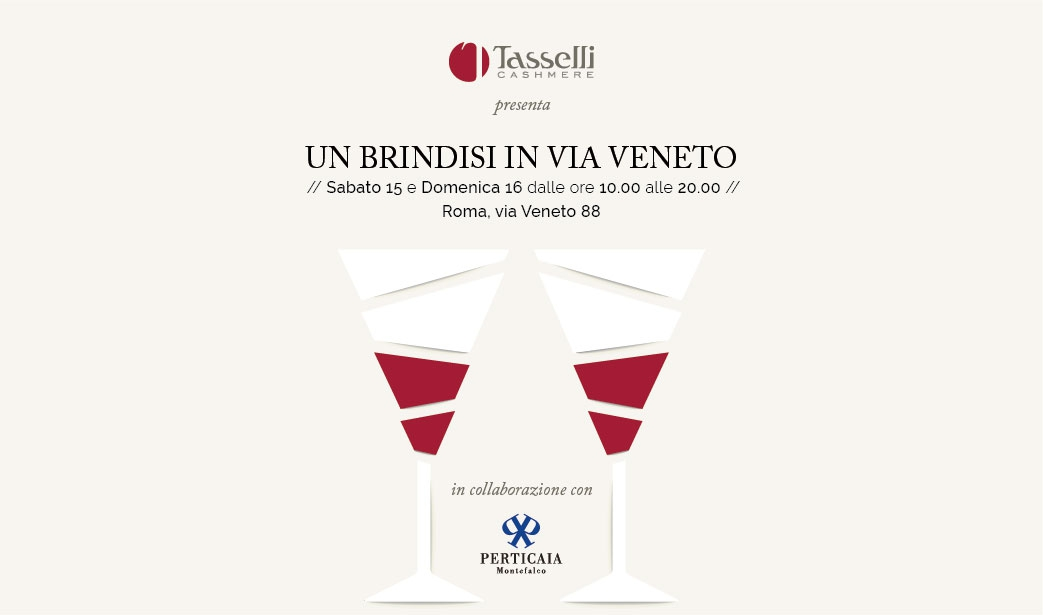 Un brindisi in Via Veneto