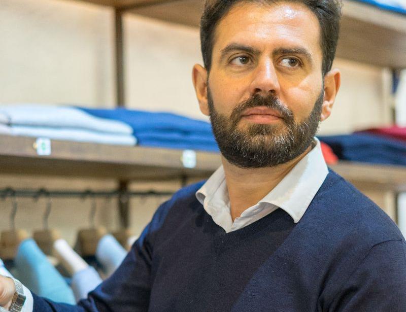 Cashmere Expert a Milano: Diego Maria Tasselli.