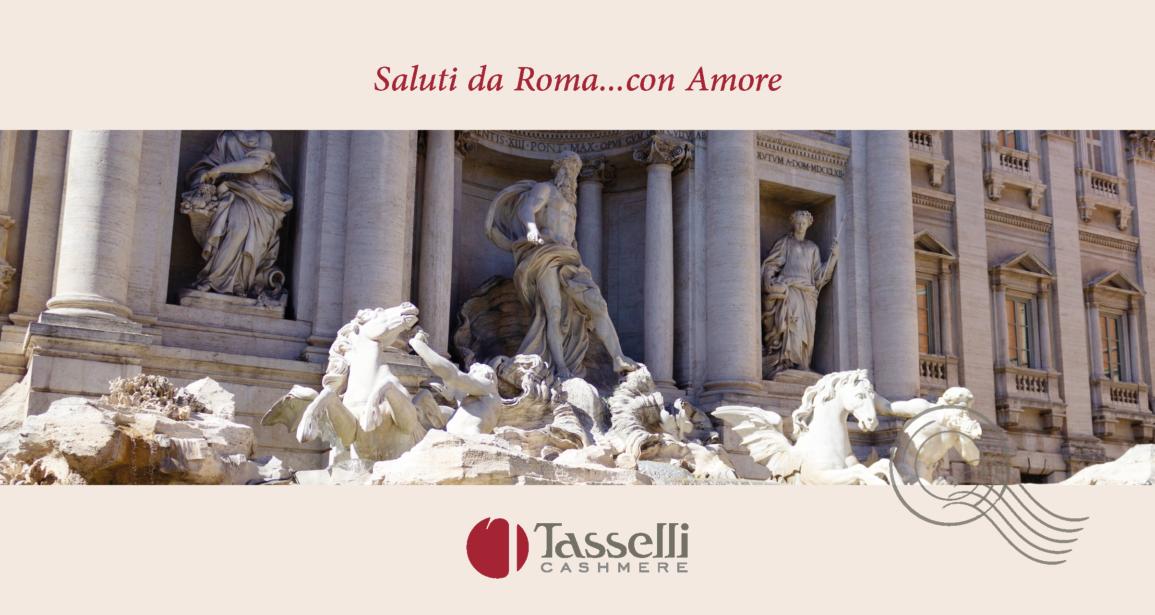 Cartolina d'Italia | Da Roma con amore