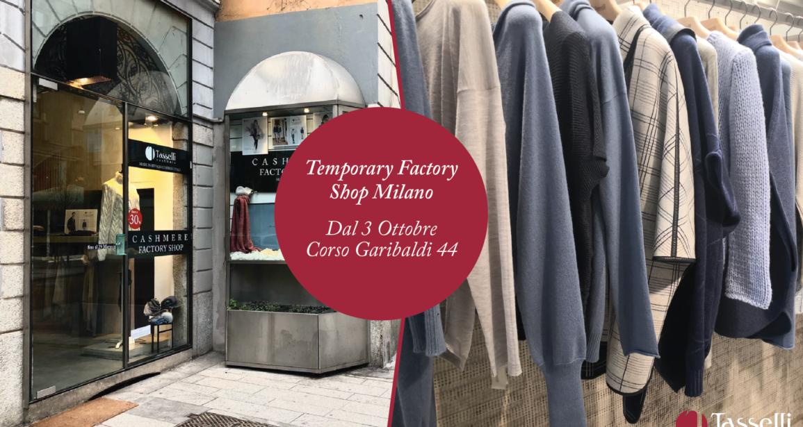 Qualità All-Season e Sostenibilità…A Milano con Tasselli Cashmere.
