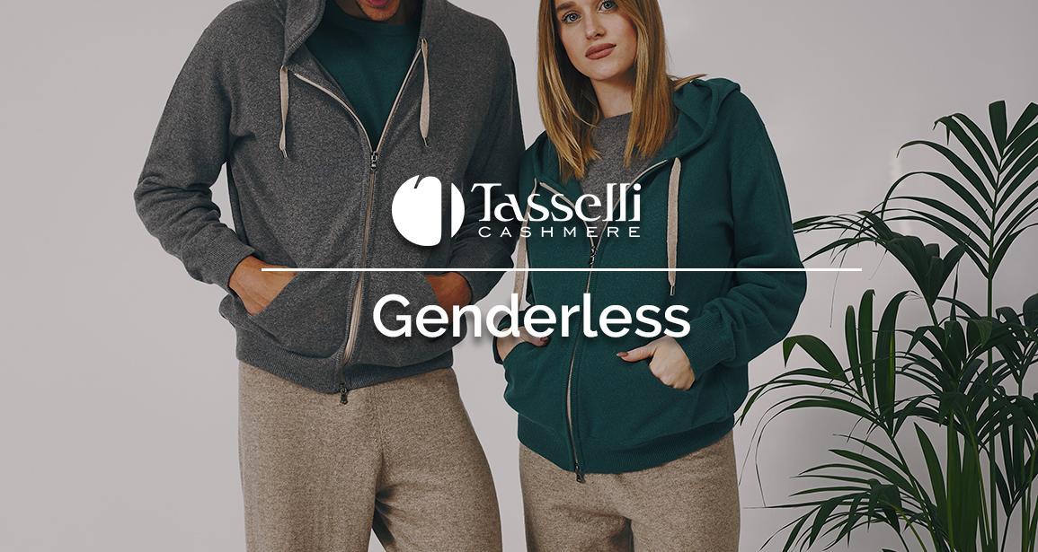 Genderless Tasselli: la linea che veste lei e lui…Senza distinzioni!